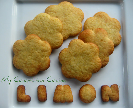 Galletas de Limon