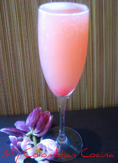 Cocktail Mimosa de Guayaba